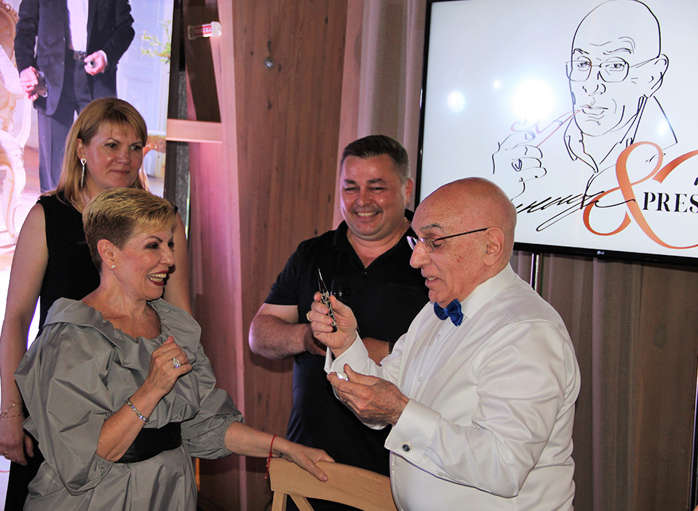 80-річний ювілей президента компанії в Києві