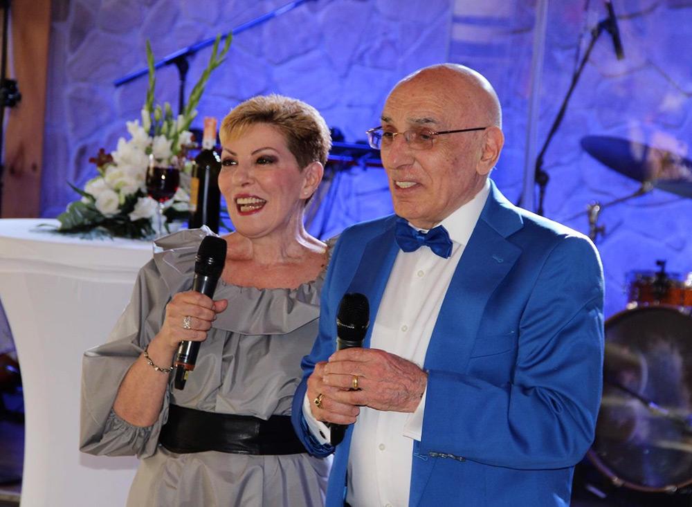80-летний юбилей президента компании в Киеве