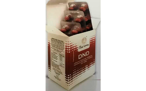 Новый препарат. Пищевая добавка DND