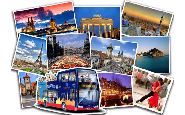 Тур выходного дня по Европе в подарок
