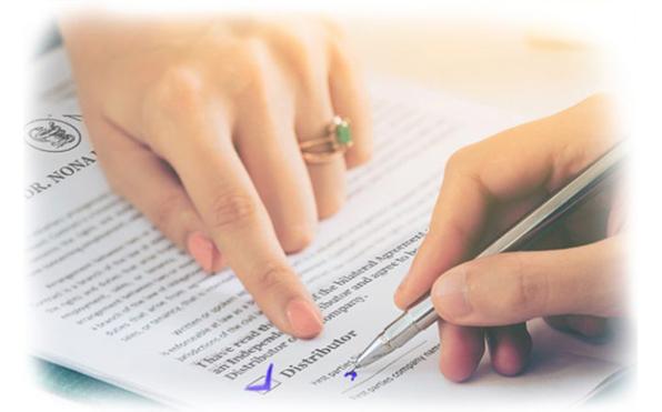 Изменение стоимости регистрационного соглашения независимого дистрибьютора