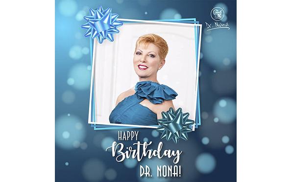 С Днём рождения, дорогая Доктор Нонна!