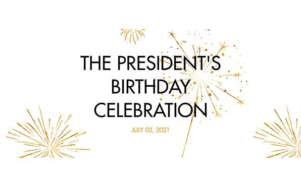 Праздник Дня Рождения Президента 02.07.2021